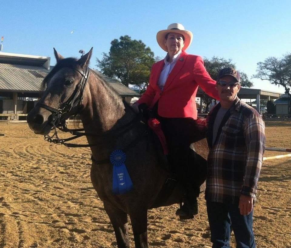 Angi FInney with Rhianna florida state fair